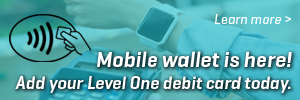 Level One Mobile Wallet