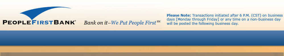 People First Bank